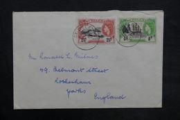 SAINTE HÉLÈNE - Enveloppe De Ste Héléna Pour Le Royaume Uni En 1960 , Affranchissement Plaisant - L 35188 - Sainte-Hélène