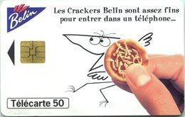 Catégorie Alimentaire - Nouveaux Crackers Belin - Assez Fins Pour Entrer Dans Un Téléphone (Recto-Verso) - France