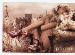 PARUOLO, MARCA DE ROPA MODA, BRAND CLOTHES FASHION  - POSTAL PUBLICIDAD ARGENTINA CIRCA 2000 - LILHU - Moda
