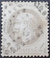 R1568/60 - NAPOLEON III Lauré N°27B - LGC - Cote : 90,00 € - 1863-1870 Napoleon III With Laurels