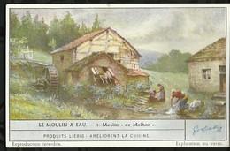 CHROMO LIEBIG . LE MOULIN A EAU . MOULIN DE MOLHAN . - Liebig
