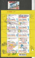 Départ Tour De France Des Pays-Bas En 1996 Et 2010. Bloc-feuillet + Timbre Neufs ** - Radsport