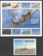 V756 1995 GRENADA TRANSPORT WORLD WAR II WWII AVIATION AIRCRAFT OF ACES BATTLE OF BRITAIN KB+BL MNH - WO2