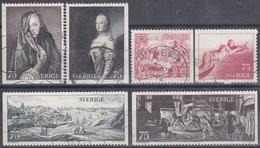 SUECIA 1972 Nº 749/54 USADO - Gebraucht