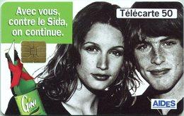 Catégorie Associations - Avec Vous Contre Le Sida ... (Recto-Verso) - France