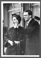ROYALTY  Belgique  België Roi Baudouin Koning Boudewijn Reine Fabiol - Baldovino E Fabiola 1961 - Personalidades Famosas