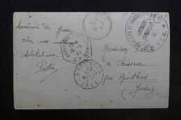 FRANCE - Carte Postale En FM De Gresse Pour Arinthod En 1941 , Cachet Chasseurs Alpins - L 35196 - Marcophilie (Lettres)