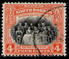 NORTH BORNEO 1925 - From Set Used - Nordborneo (...-1963)