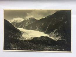 NEW ZEALAND - Franz Joseph Glacier - 1930`s With  Waiho Gorge Cancel - New Zealand