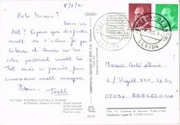 33467. Postal ESTERRI D'ANEO (Lerida) 1991. Vista De ESTERRI, Pirineo Catalan - 1931-Hoy: 2ª República - ... Juan Carlos I