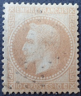 R1568/64 - NAPOLEON III Lauré N°28B - ETOILE De PARIS - 1863-1870 Napoléon III. Laure