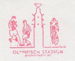 Meter Cut Netherlands 1992 Olympic Stadium Amsterdam - Football - Cycling - Olympische Spelen