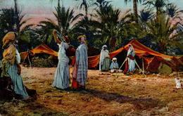 Algérie - Le Ravitaillement D'eau Dans L'oasis - Algérie