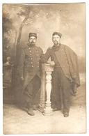 MILITARIA - 1914 - CARTE PHOTO - Supposé TARBES (65) - Deux Militaires - War 1914-18