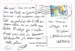 33469. Carta TOLO (Peloponeso) 1997. Vista  De ANDROS - Grecia