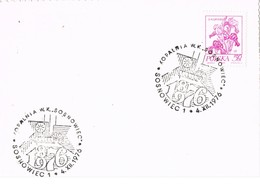 33470. Tarjeta SOSNOWIEC (Polska) Polonia 1976. MINA W.K. Sosnovice, Mineria - Cartas