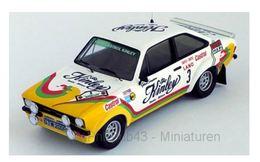 Ford Escort MK II RS 1800 - Kinley - G. Staepelaere/F. Franssen - Rally Ypres 1978 #3 - Troféu - Trofeu