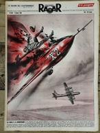RADAR / N° 400 Du 7 Octobre 1956 / Salon De L'Automobile / En Couverture : Avions : BELL X2 Et B.50 - Allgemeine Literatur