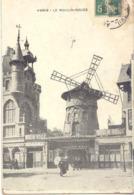 CPA - PARIS - LE MOULIN ROUGE A LA BELLE EPOQUE - France