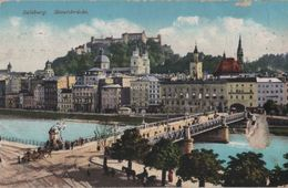 Österreich - Salzburg - Staatsbrücke - 1915 - Salzburg Stadt