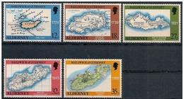 Alderney: Carta Geografica, Mappa, Carte - Geografia
