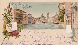 VENEZIA Canal Grande E Museo Civico Viaggiata 1896 - Venezia