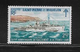 SAINT PIERRE ET MIQUELON  ( SPM5 - 17 )  1971  N° YVERT ET TELLIER  N° 415  N** - Neufs