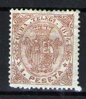 Cuba (Telégrafos) Nº 18. Año 1874 - Cuba (1874-1898)