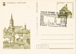 33471. Entero Postal RYBNIK (Polska) Polonia 1975. MINAS De CARBON, Tecnica Region Minera - Enteros Postales
