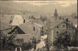 Cp Le Thillot Vosges, Vue Panoramique Sur Le Col Du Croix - Francia