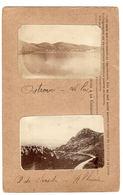 MILITARIA - CARTE EN FRANCHISE - Photo OSTROVO (SERBIE) - COL, En ALBANIE - Guerra 1914-18