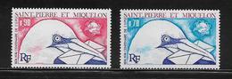 SAINT PIERRE ET MIQUELON  ( SPM5 - 20 )  1974  N° YVERT ET TELLIER  N° 434/435  N** - St.Pedro Y Miquelon