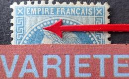 R1568/70 - NAPOLEON III Lauré N°29B NEUF* - VARIETE ➤➤➤ Perle Allongée + Petit Point En Face Des épis - Cote : 300,00 € - 1863-1870 Napoleon III With Laurels