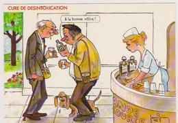 BRIAN  Jean  Ed Cellard N°4465 - Humour Cure Thermale  Source Ivrogne Whisky - CPM 10,5x15 TBE 1986 Neuve - Illustrateurs & Photographes