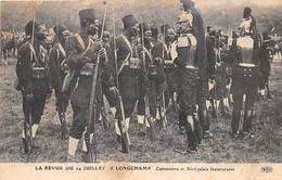 ¤¤   -   PARIS  -  La Revue Du 14 Juillet à LONGCHAMP  -  Cuirassiers Et Sénégalais Fraternisant   -  ¤¤ - Arrondissement: 16