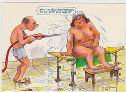 BRIAN  Jean  Ed Cellard N°4466 - Humour Cure Thermale  Grosse Femme Nue - CPM 10,5x15 TBE 1986 Neuve - Autres Illustrateurs