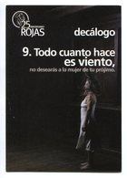 DECALOGO, OBRA DE TEATRO, DIEZ MANDAMIENTOS, THEATER, TEN COMMANDMENTS - POSTAL PUBLICIDAD ARGENTINA CIRCA 2000 - LILHU - Teatro