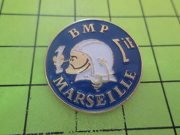 2117 Pins Pin's / Rare & Belle Qualité THEME POMPIERS / 1e CIE (où Est Passée La 7e ?) POMPIERS DE MARSEILLE - Brandweerman