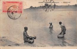 SENEGAL  SAINT LOUIS  Corvée D'eau 2 (scan Recto Verso)FRCR00089 P - Senegal