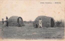 SENEGAL  Saint Louis Campement PEULHS  3 (scan Recto Verso)FRCR00089 P - Senegal