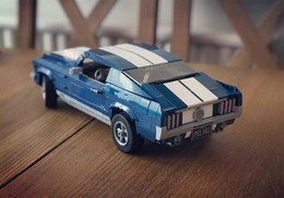 Ford Mustang  -  Xingbao Technician  - Voiture A Montage - Brick Model - Neuf - Brand New! - Cars