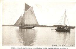 N°74347 -cpa Les îles Saint Quay - Saint-Quay-Portrieux