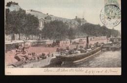 LOT575.....SELECTION 5 CPA PARIS ...LA SEINE - Cartes Postales