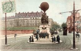 PARIS - Monument élevé En L'Honneur Des Aéronautes Du Siège, à Neuilly - Altri Monumenti, Edifici
