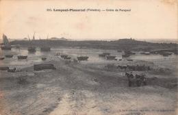 29  LAMPAUL PLOUARZEL La Gréve De Porspaul   38 (scan Recto Verso)FRCR00089 P - Lampaul-Guimiliau