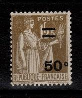 YV 298 N** Paix Surchargé Cote 8 Euros - Unused Stamps