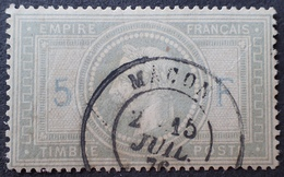 R1568/79 - NAPOLEON III Lauré N°33A - SUPERBE CàD De MACON (Saône Et Loire) Du 15 JUILLET 1876 - Cote : 1300,00 € - 1863-1870 Napoléon III Lauré