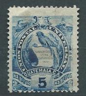 Guatemala - Yvert N° 107 (*)     - Ah 31007 - Guatemala