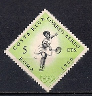 Costa Rica 1960 - Airmail - Olympic Games - Rome, Italy - Costa Rica