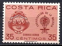 Costa Rica 1963 - Airmail - Malaria Eradication - Costa Rica